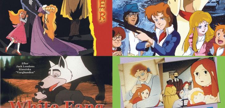 Fyra tecknade klassiker