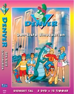 KDB027 DENVER Den siste dinosaurien DVD-faktafront