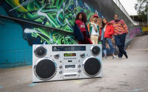 GPO Boom Box, lifestyle shots